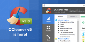 CCleaner V5.39 2018 Portable [ Crack + Key ] Free Full Download