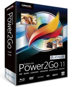 CyberLink Power2Go Platinum 11.0.2330.0 Full Free Download