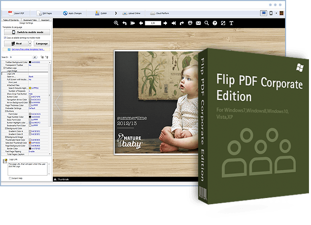 Flip PDF Corporate Edition 2.4.9.13 Crack + Keygen Free Full Download