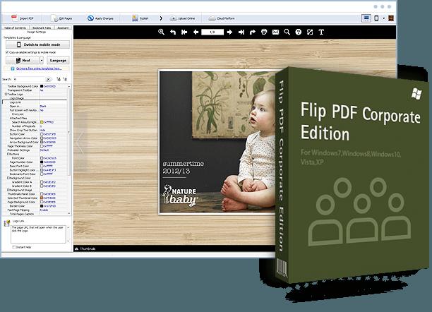 Flip PDF Corporate Edition 2.4.9.13 Crack + Keygen Free Full Download