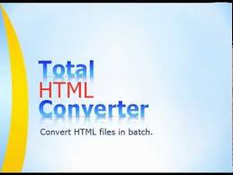 Total HTML Converter 5.1.119 Crack Full Keygen Free Download [ Win + MAC ]