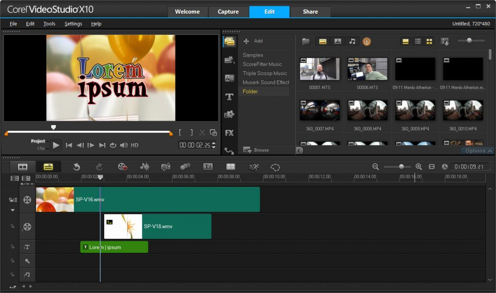 Corel VideoStudio Ultimate X10 Patch & Serial Number Free Download