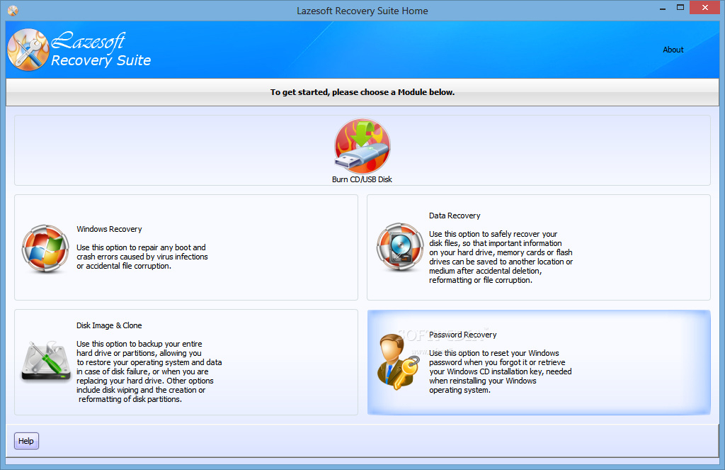 Lazesoft Recovery Suite 4.2.3 Unlimited Edition+ Crack Patch Free