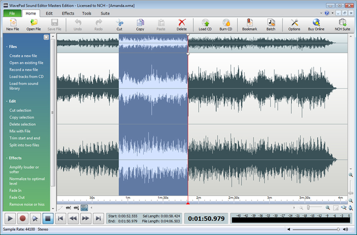 WavePad Sound Editor 8.11 Crack Download Windows + Mac