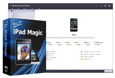 Xilisoft iPhone Magic Platinum 5.7.23 Crack & License Key Download