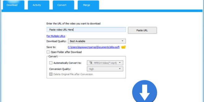 Allavsoft Video Downloader Converter 3.15.3.6544 Crack Patch Free Download