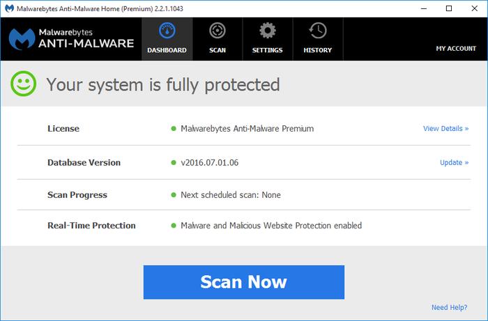 Malwarebytes Anti-Malware 3.5.1.2522 Crack & Serial Key Download Free