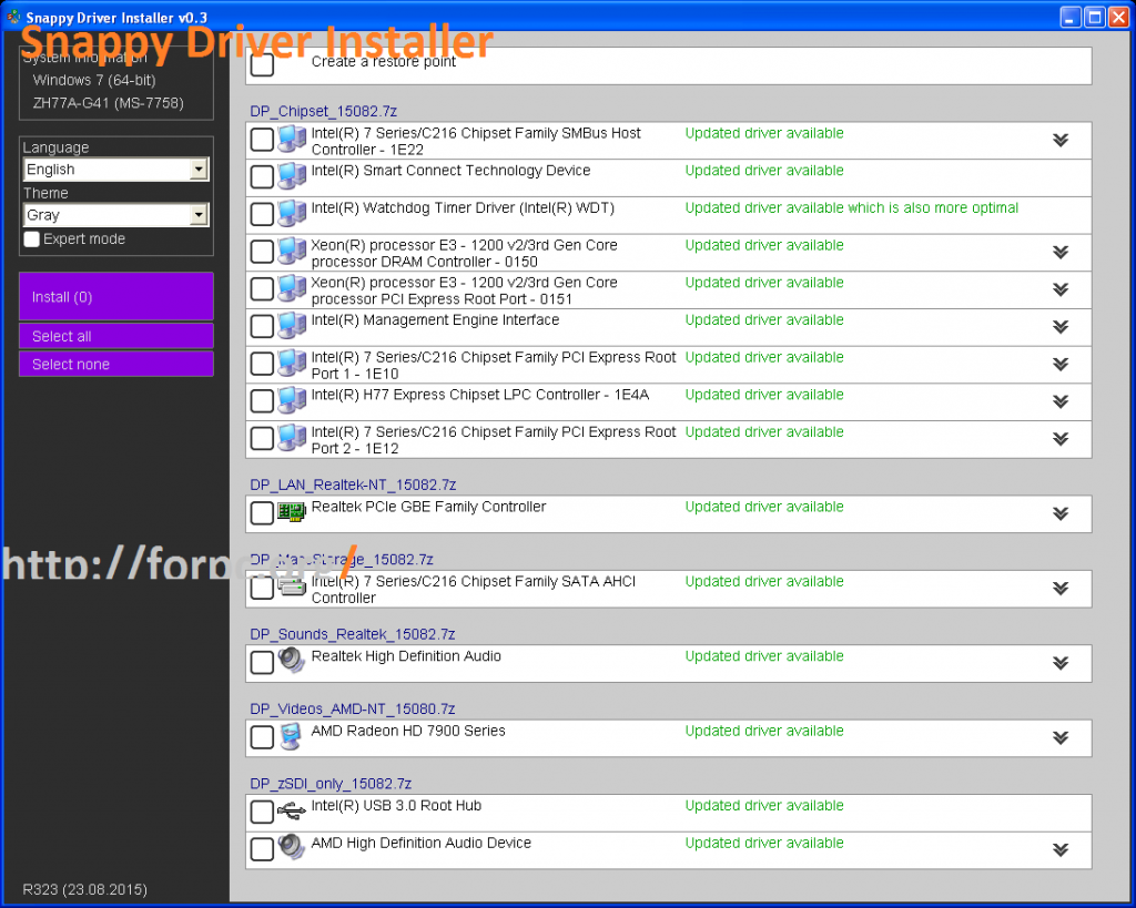 Snappy Driver Installer 1.18.0 R1800 Download Free 2018