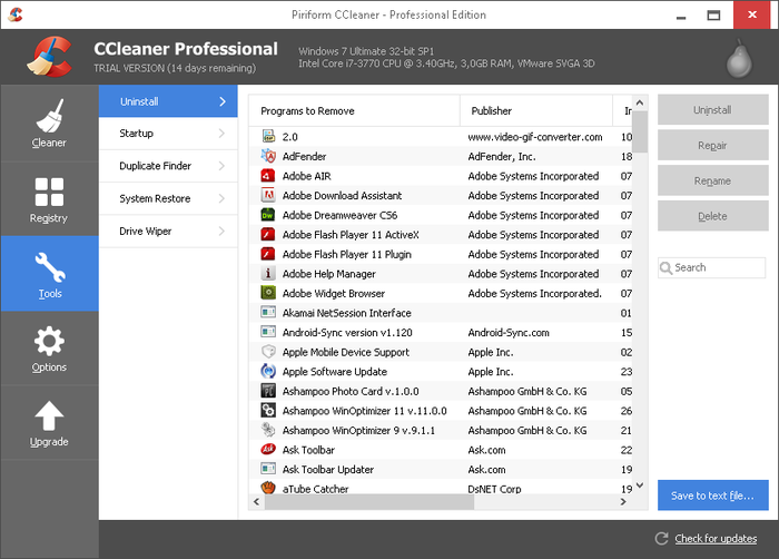 CCleaner Professional 5.66 Crack + Full Download 2020