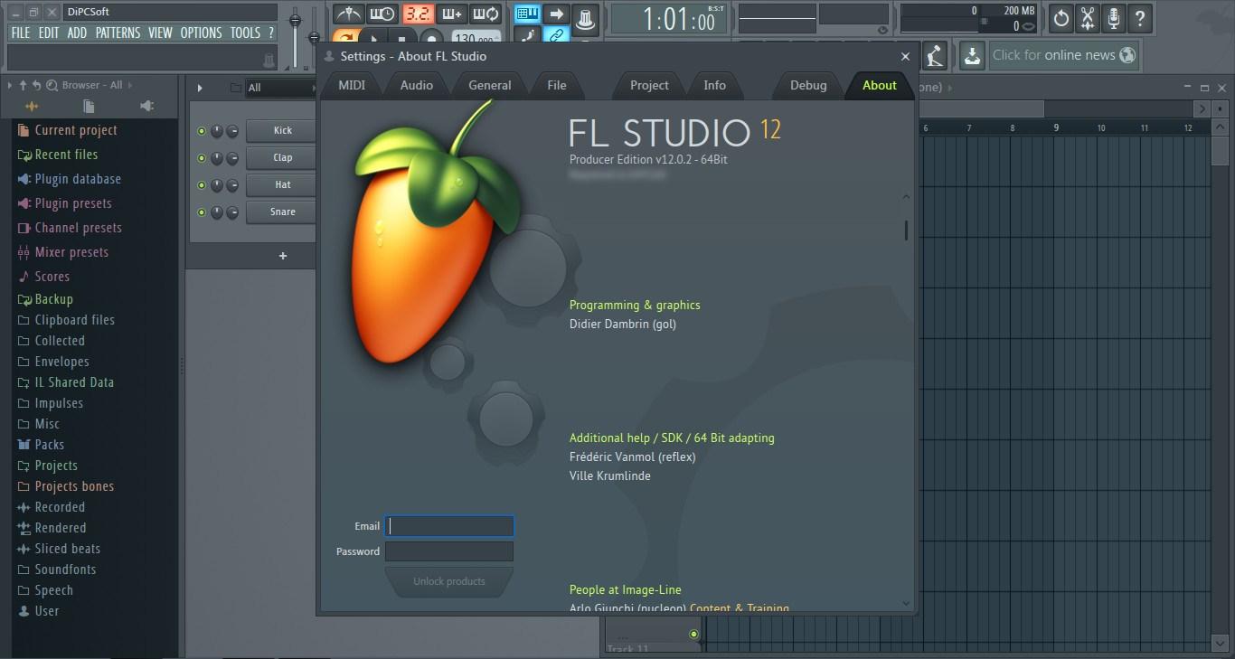 FL Studio 20.0.4.629 Crack Download Keygen & Serial Key {2018}