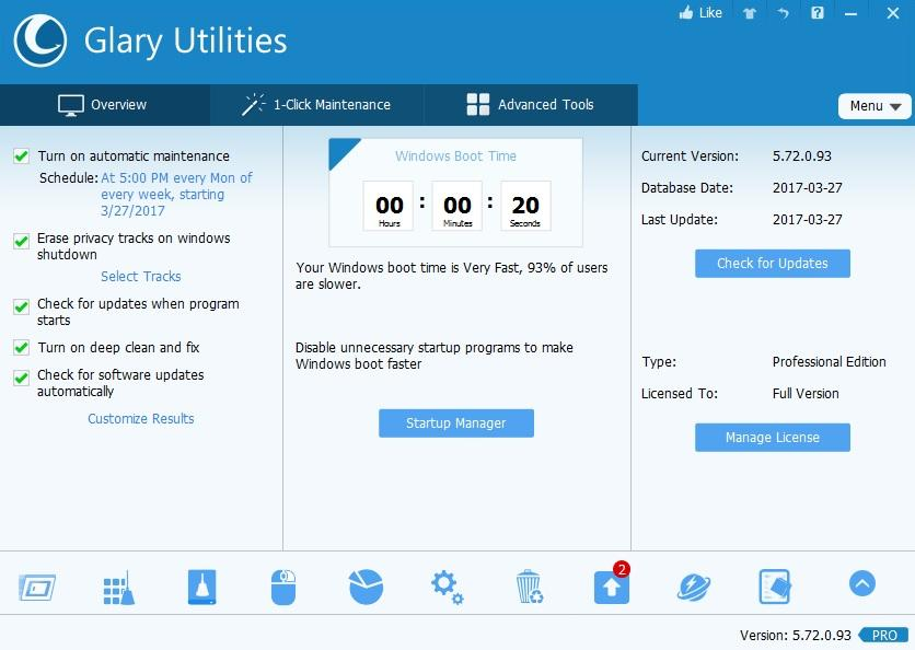 Glary Utilities 5.92.0.114 Crack & Keygen Download Free [Portable]