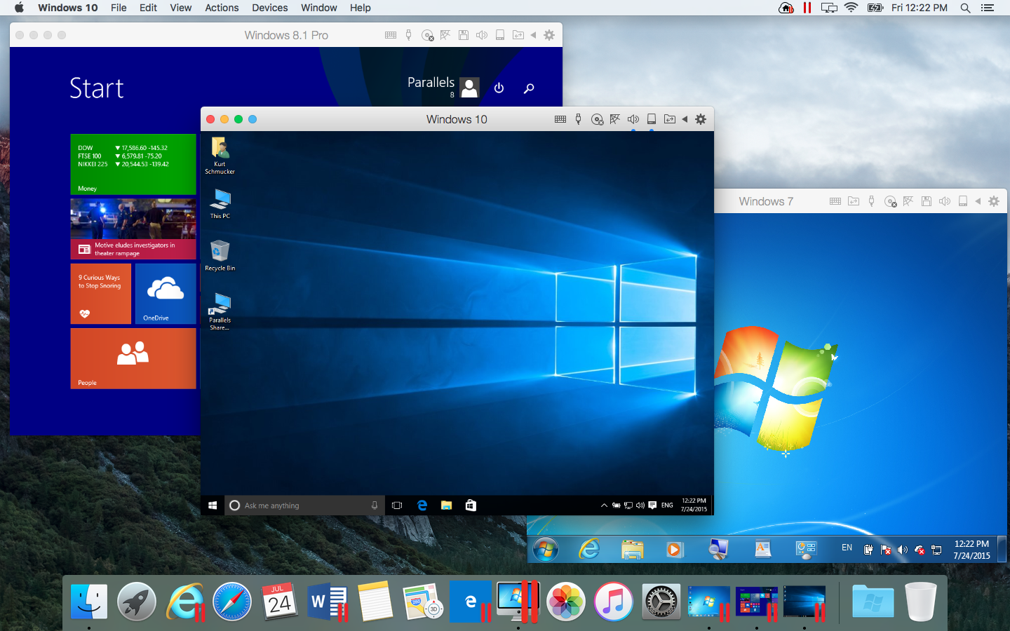 Parallels Desktop 13.3.0 2018 Crack With Serial Keys Download Mac
