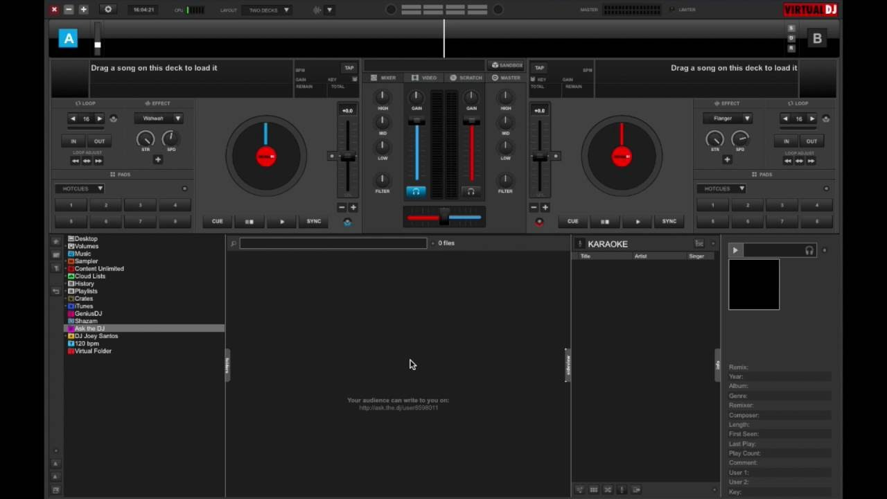 Virtual DJ 8.2.3967 Crack for MAC Full Free Build 3996 Download