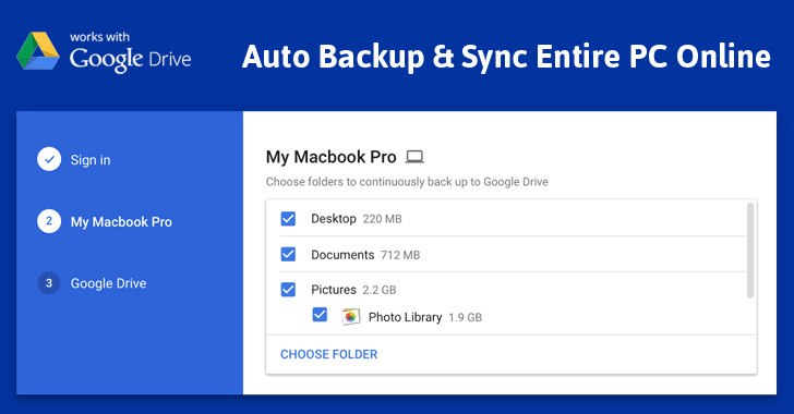 Google Backup and Sync 3.39.8370.7843 2018 Download Win/Mac