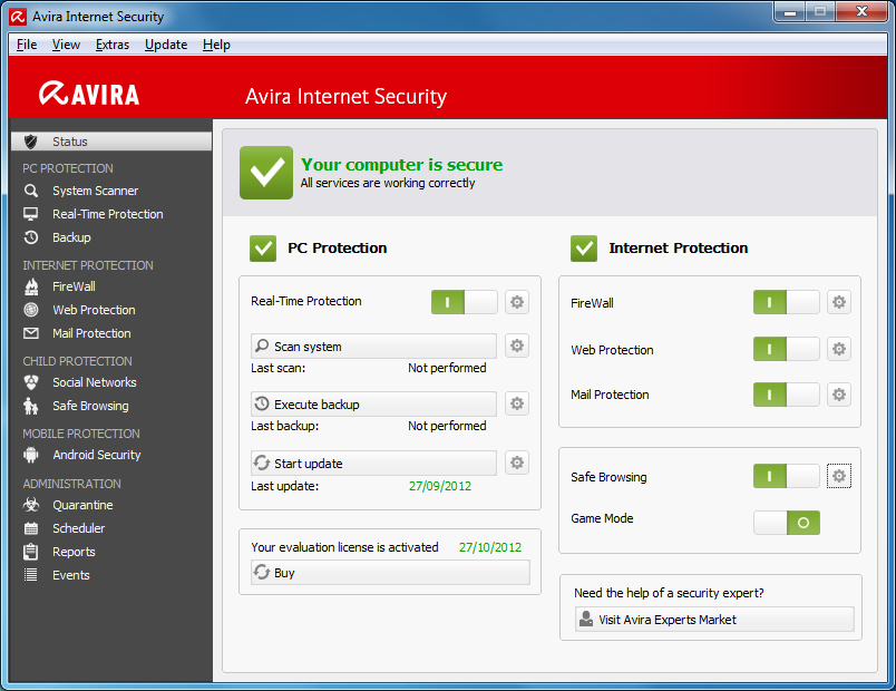 Avira Internet Security 2018 Crack Keygen & License Keys Download